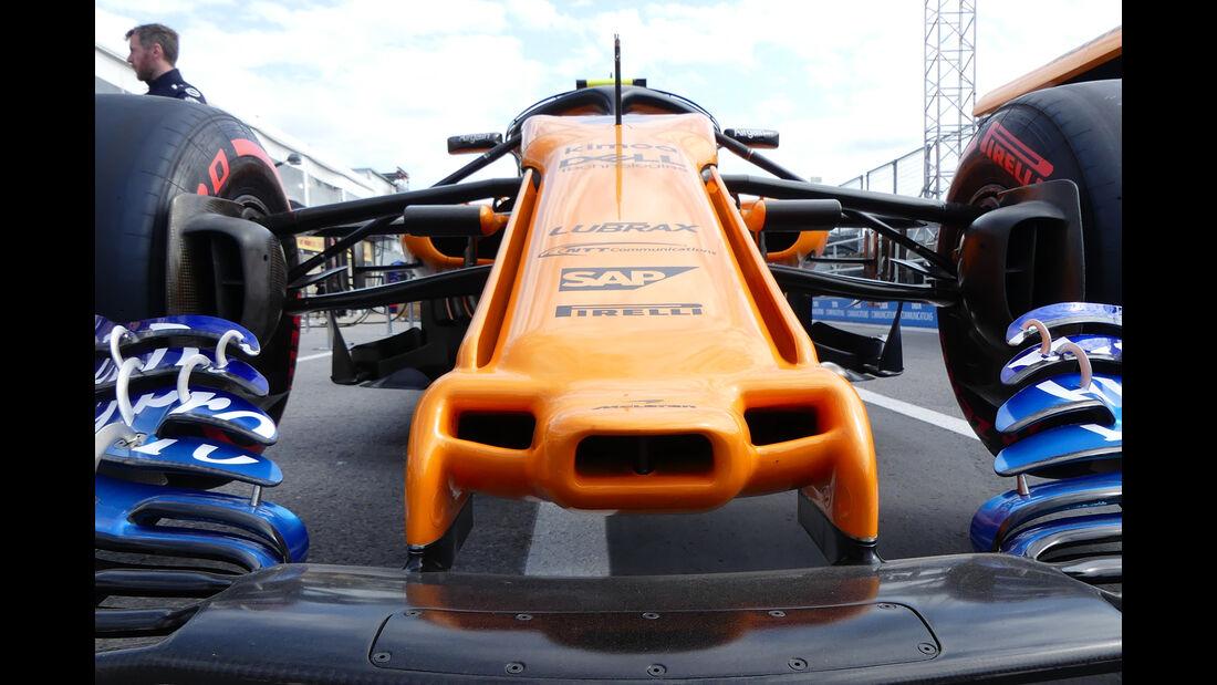 McLaren - Formel 1 - GP Kanada - Montreal - 7. Juni 2018
