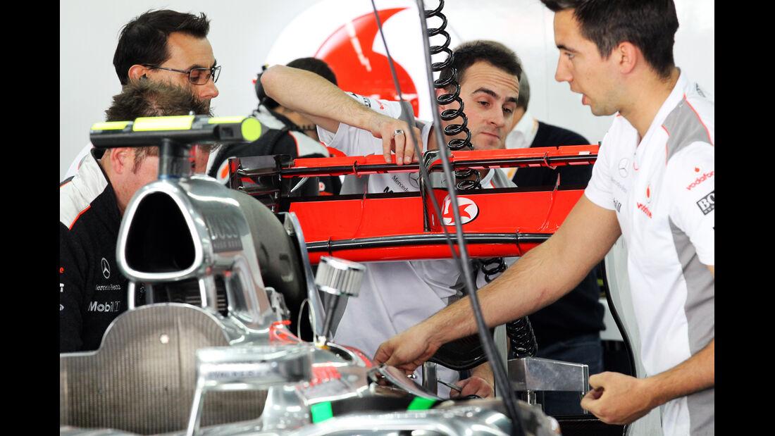 McLaren - Formel 1 - GP Korea - 12. Oktober 2012