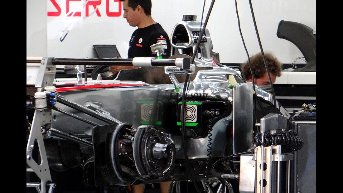 McLaren - Formel 1 - GP Korea - 2. Oktober 2013