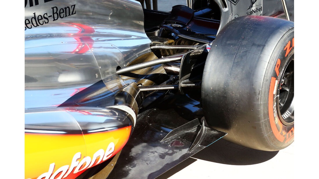 McLaren - Formel 1 - GP Korea - 3. Oktober 2013