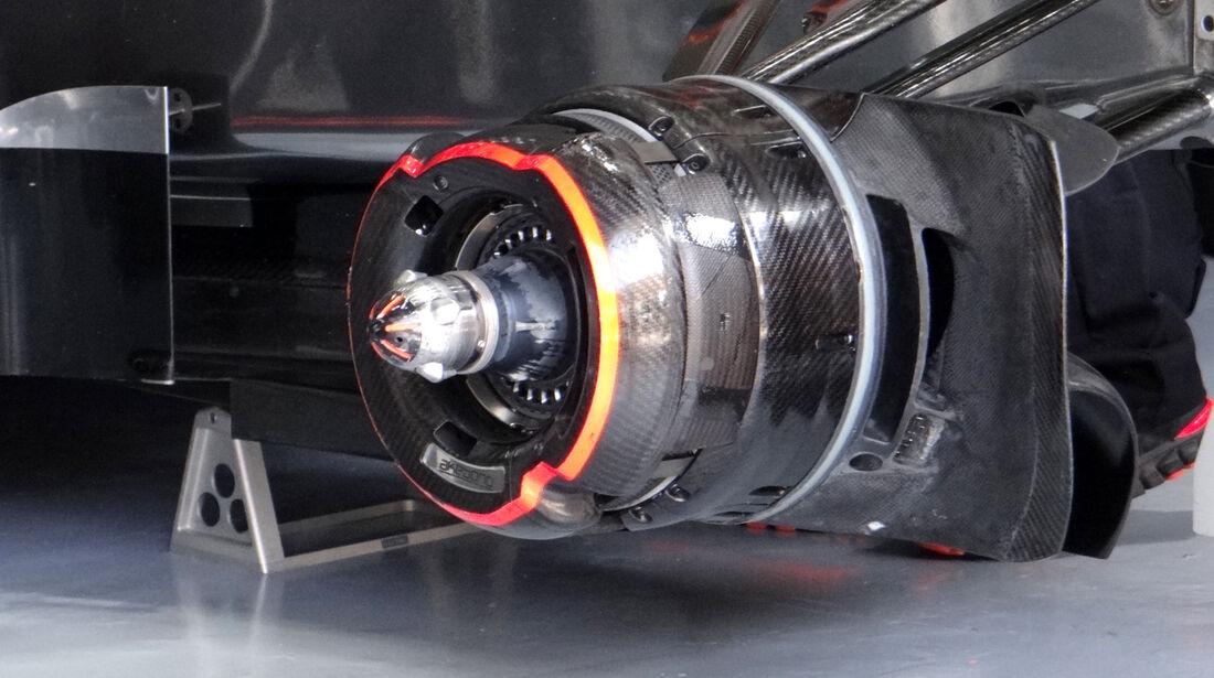 McLaren - Formel 1 - GP Malaysia - 22. März 2013
