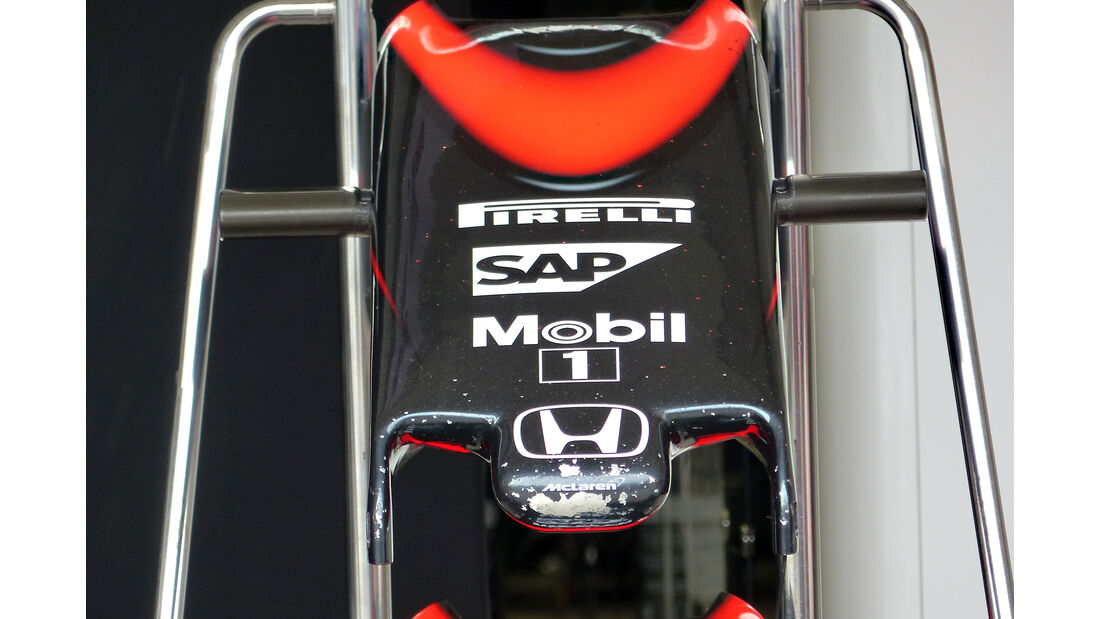 McLaren - Formel 1 - GP Mexico - 28. Oktober 2015