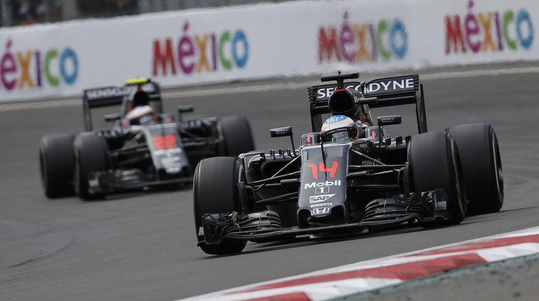 McLaren - Formel 1 - GP Mexiko 2016