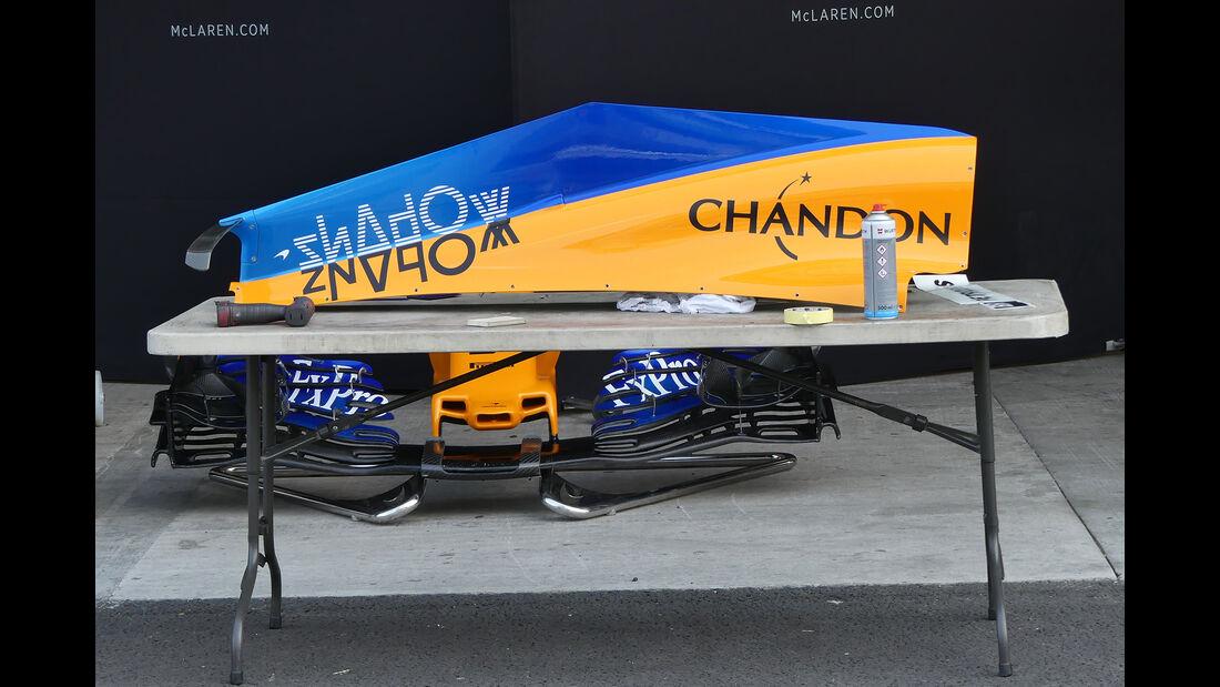 McLaren - Formel 1 - GP Mexiko - 24. Oktober 2018