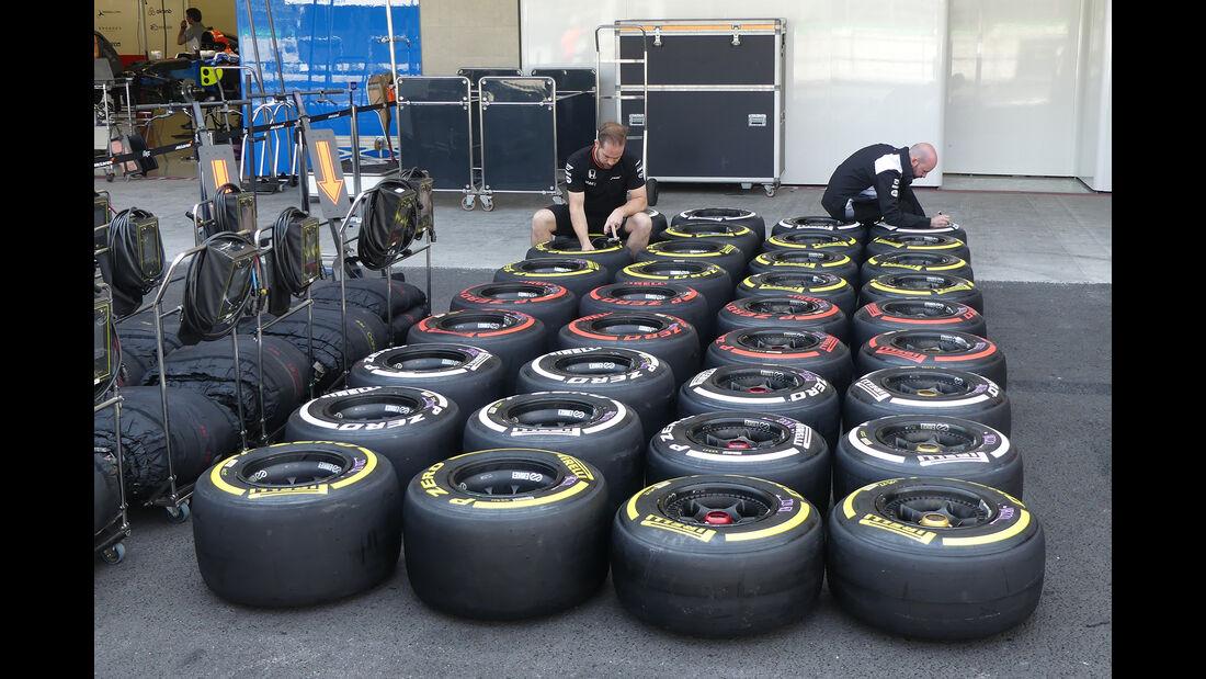 McLaren - Formel 1 - GP Mexiko - 26. Oktober 2016