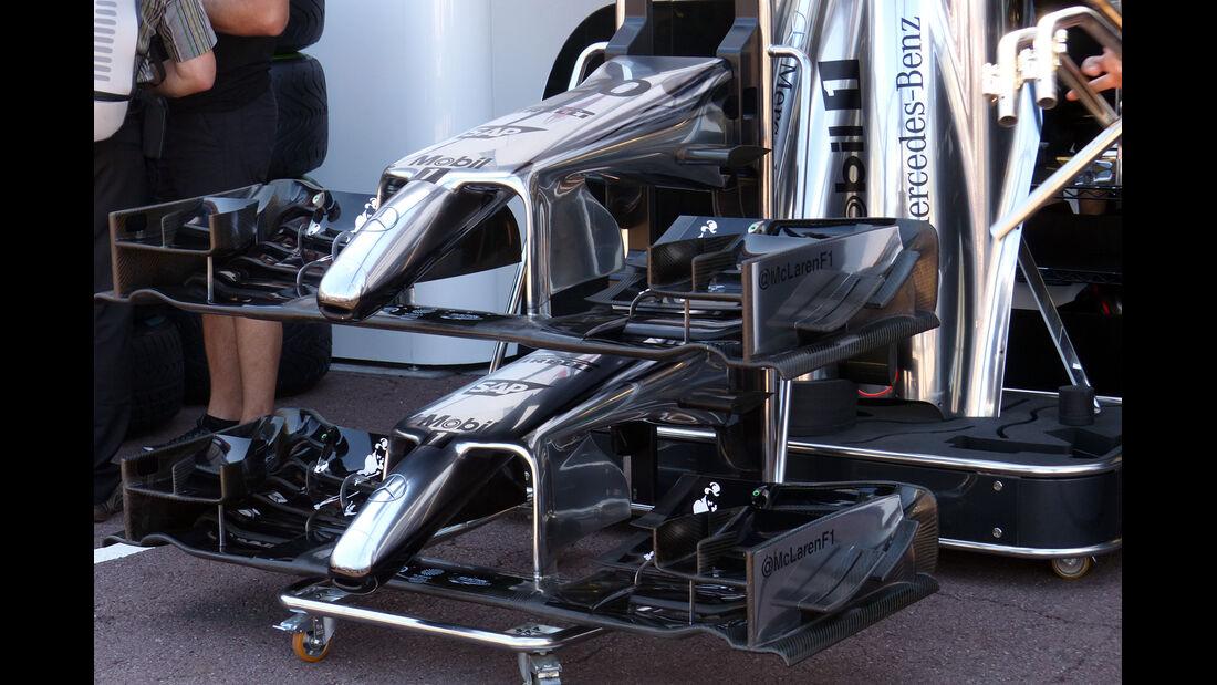 McLaren - Formel 1 - GP Monaco - 23. Mai 2014