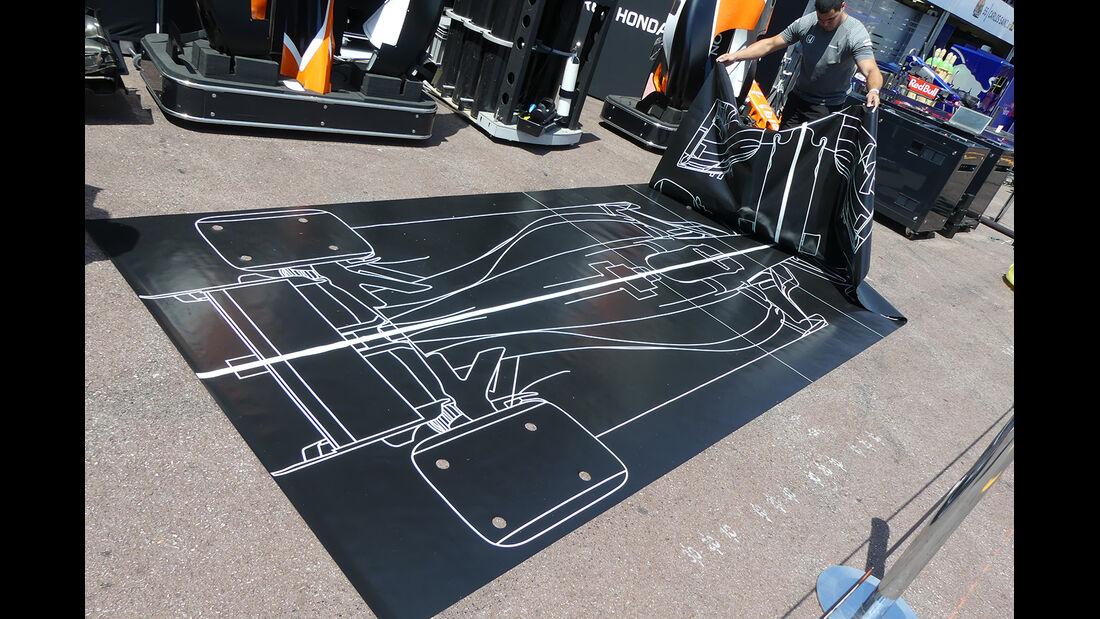 McLaren - Formel 1 - GP Monaco - 23. Mai 2017