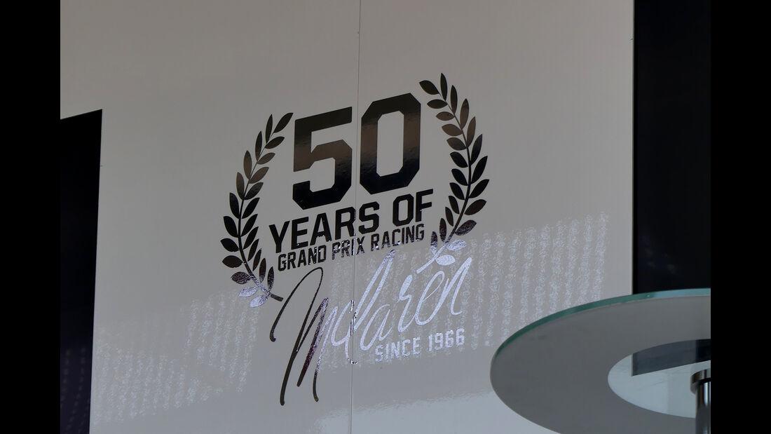 McLaren - Formel 1 - GP Monaco - 24. Mai 2016