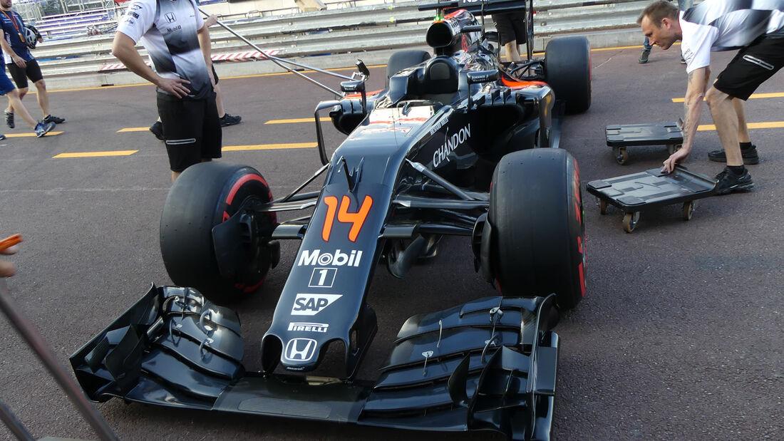 McLaren - Formel 1 - GP Monaco - 25. Mai 2016
