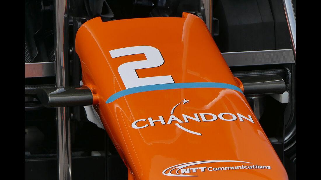 McLaren - Formel 1 - GP Monaco - 26. Mai 2017