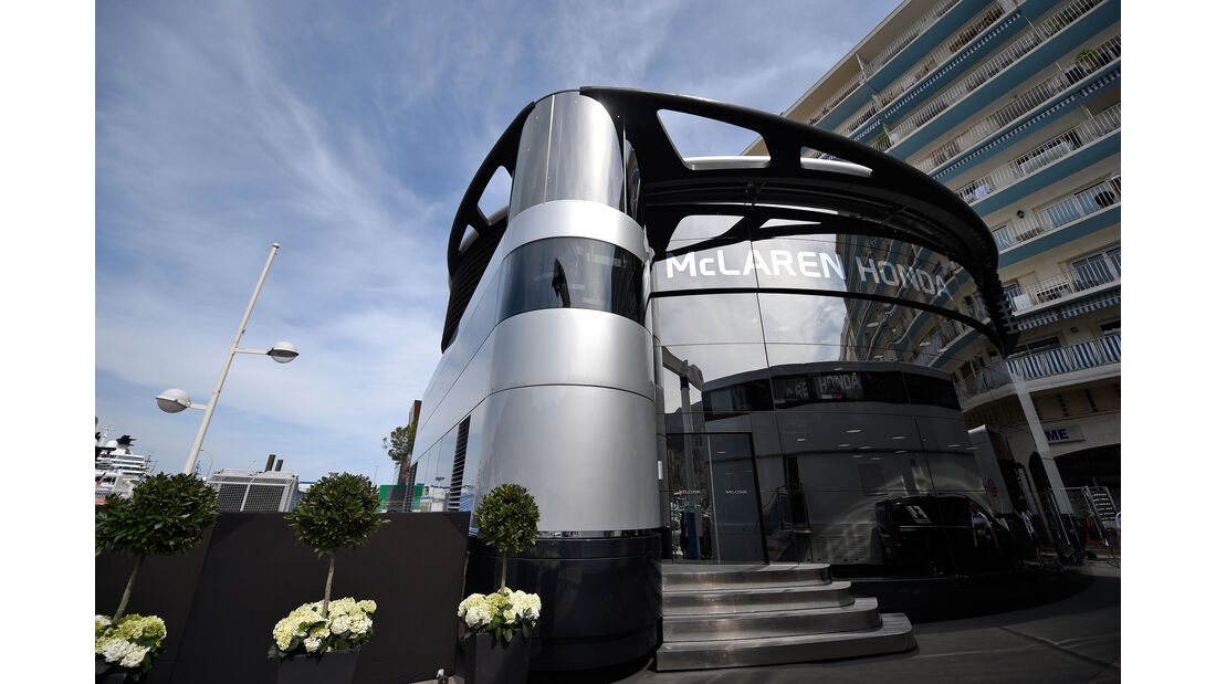 McLaren - Formel 1 - GP Monaco - 27. Mai 2016