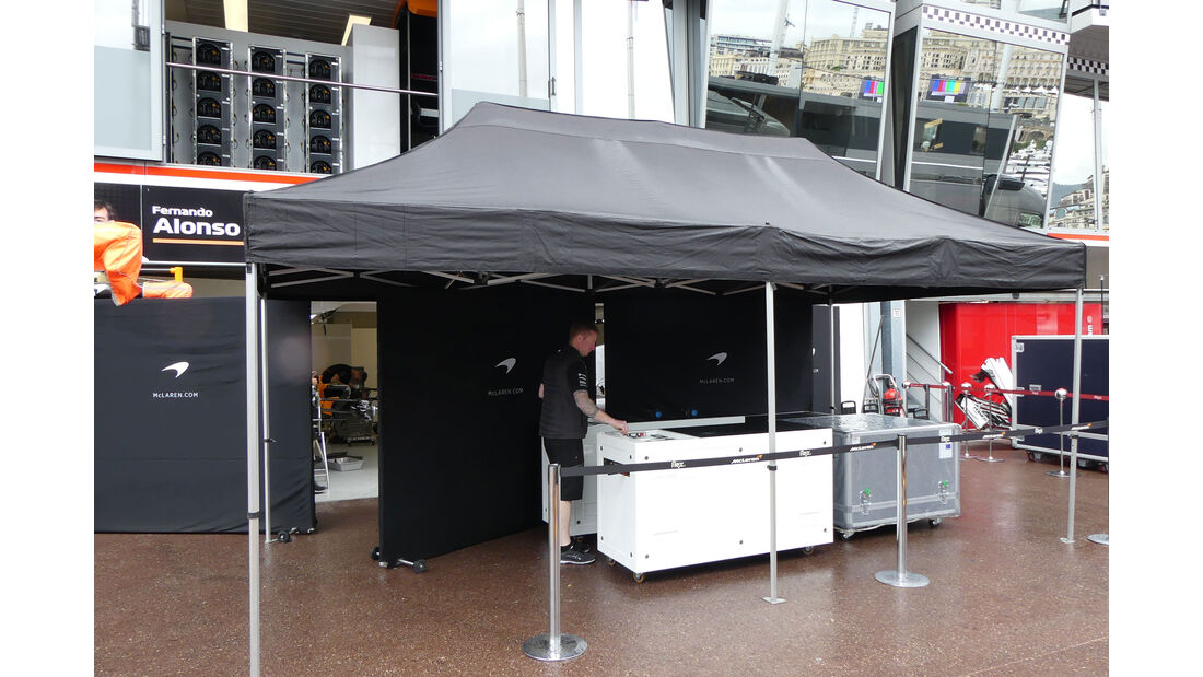 McLaren - Formel 1 - GP Monaco - Mittwoch - 22.5.2018