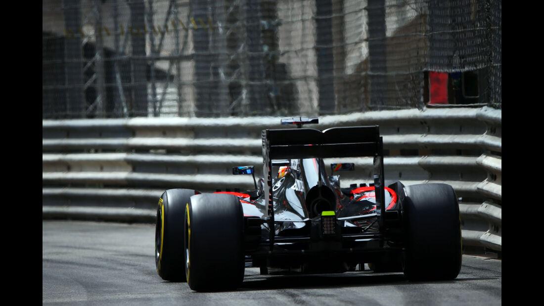 McLaren - Formel 1 - GP Monaco - Samstag - 23. Mai 2015