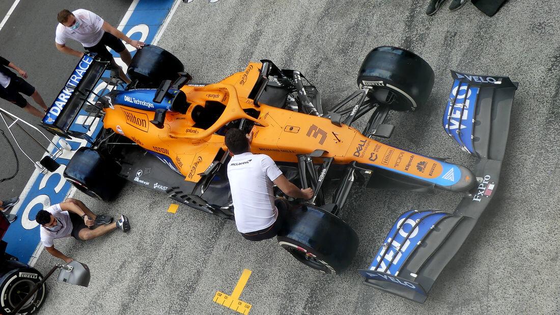 McLaren - Formel 1 - GP Niederlande - Zandvoort - 2. September 2021