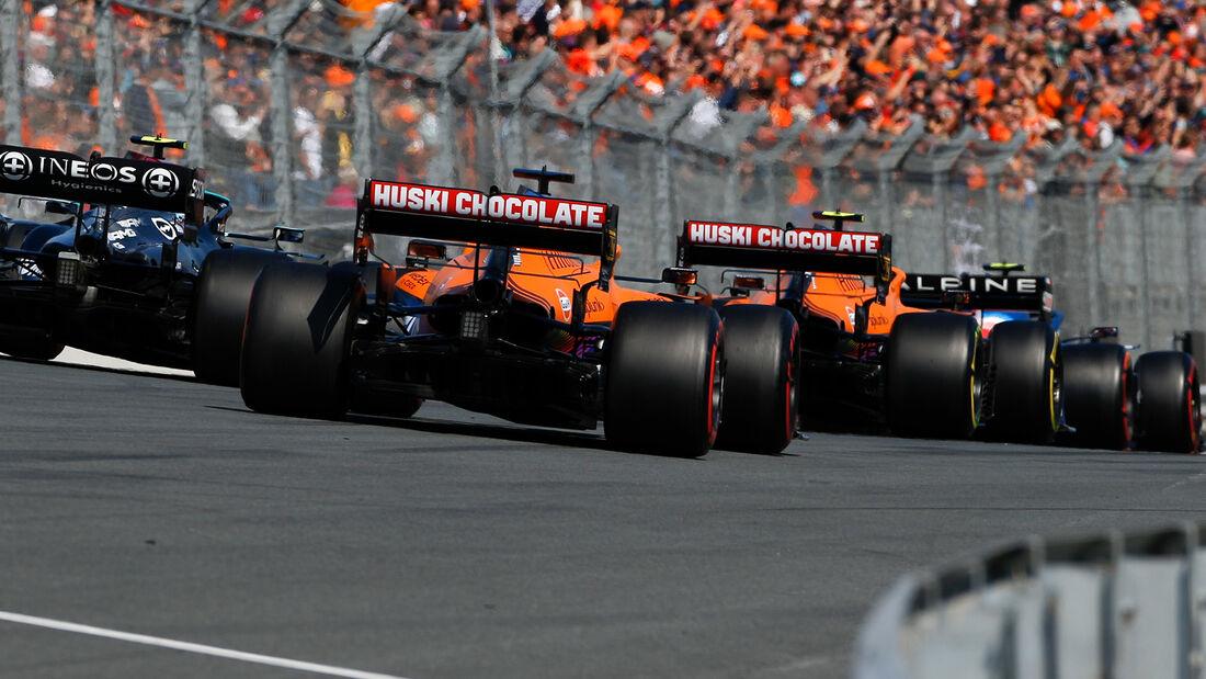 McLaren - Formel 1 - GP Niederlande - Zandvoort - 2021