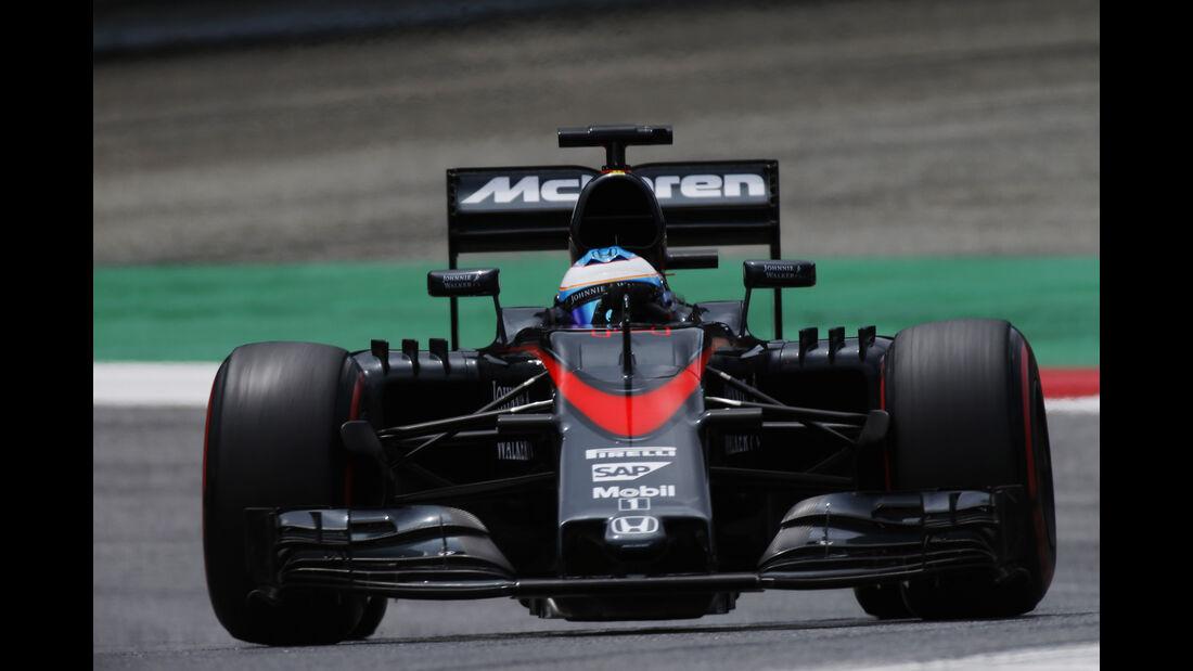 McLaren - Formel 1 -  GP Österreich 2015