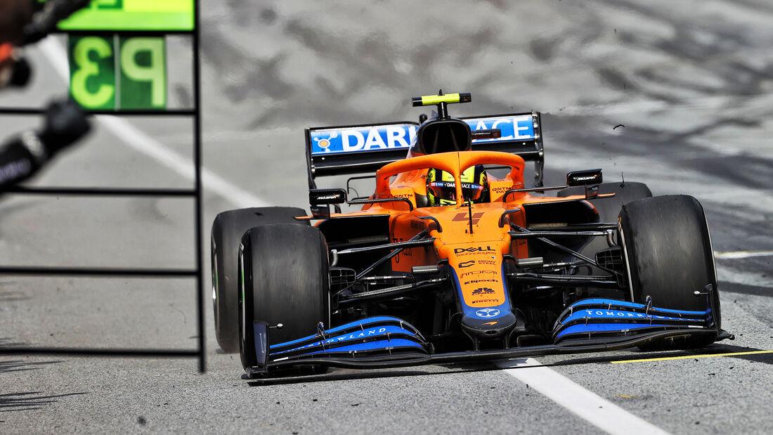 McLaren - Formel 1 - GP Österreich 2021