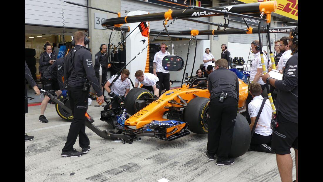 McLaren - Formel 1 - GP Österreich - 28. Juni 2018