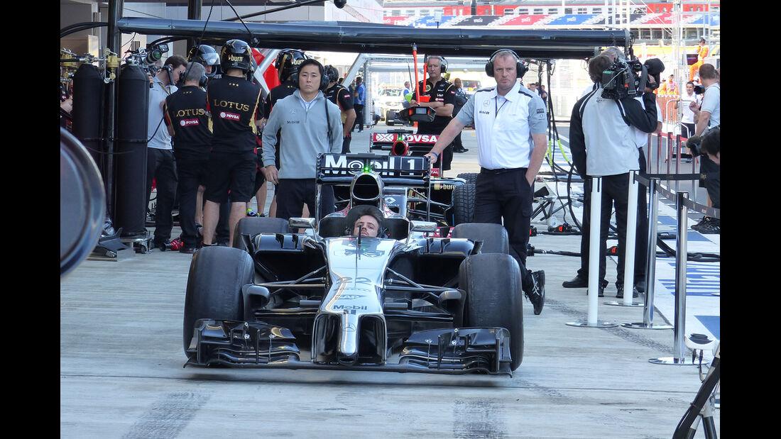 McLaren - Formel 1 - GP Russland - 11. Oktober 2014