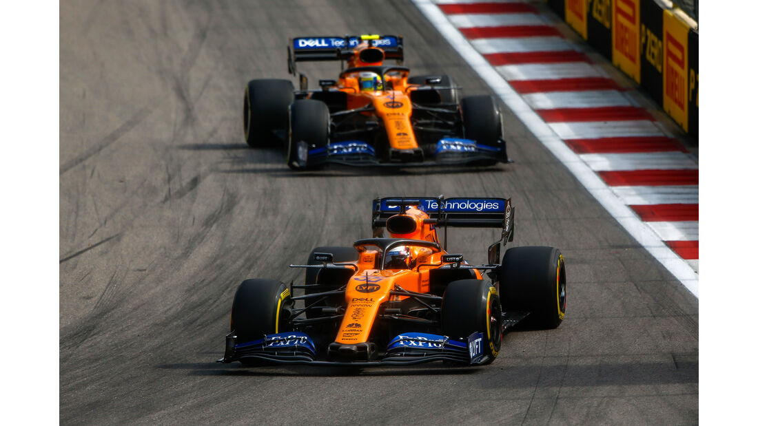 McLaren - Formel 1 - GP Russland 2019