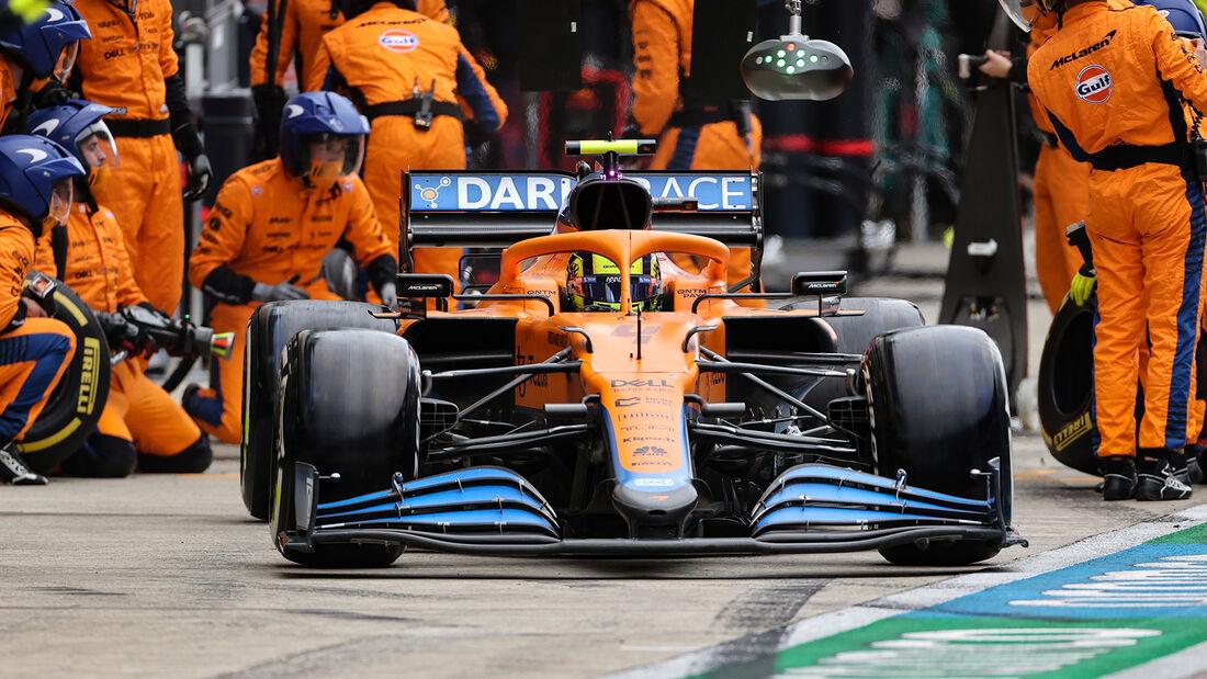McLaren - Formel 1 - GP Russland 2021