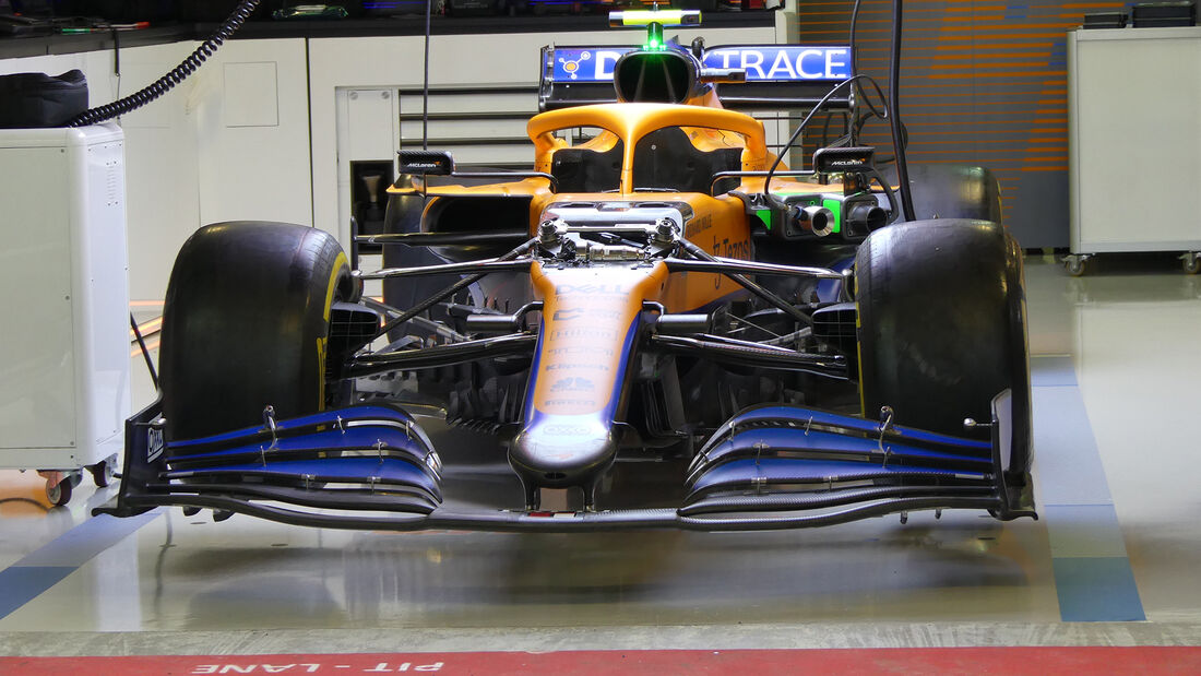McLaren - Formel 1 - GP Russland - Sotschi - Donnerstag - 23.09.2021