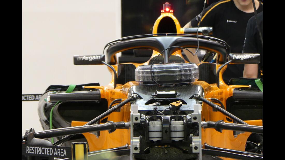 McLaren - Formel 1 - GP Singapur - 12. September 2018