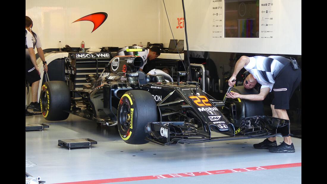 McLaren - Formel 1 - GP Singapur - 15. Septemberg 2016