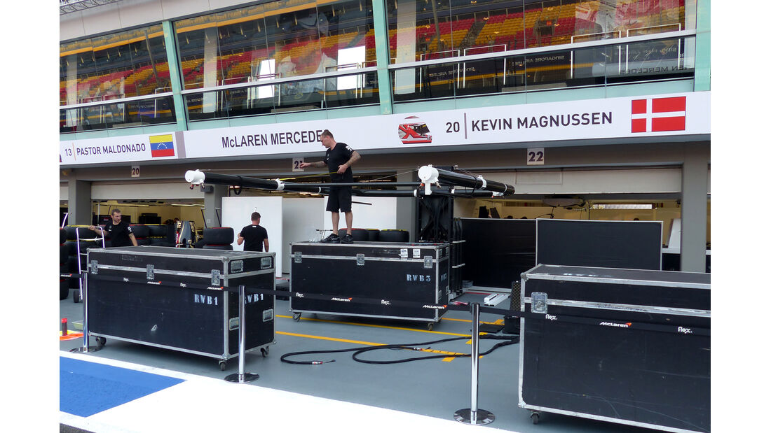McLaren - Formel 1 - GP Singapur - 17. September 2014
