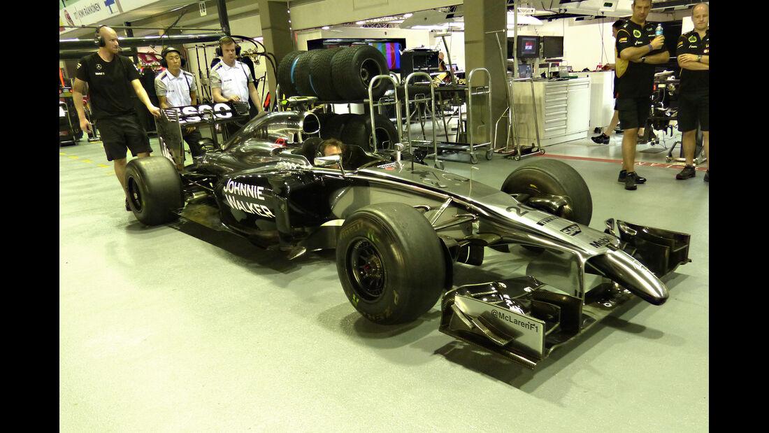 McLaren - Formel 1 - GP Singapur - 18. September 2014