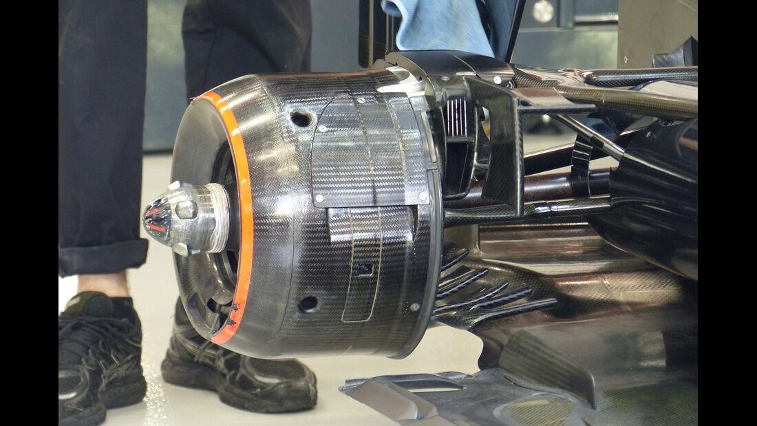 McLaren - Formel 1 - GP Singapur - 18. September 2015