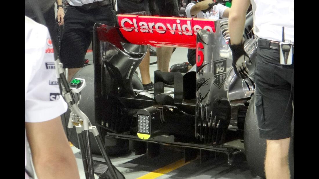McLaren - Formel 1 - GP Singapur - 19. September 2013