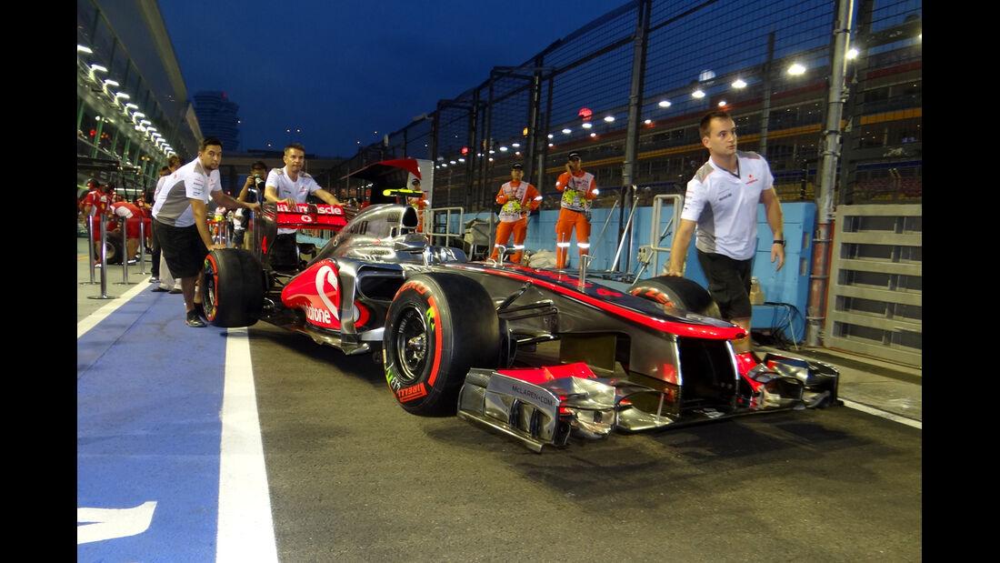 McLaren - Formel 1 - GP Singapur - 20. September 2012