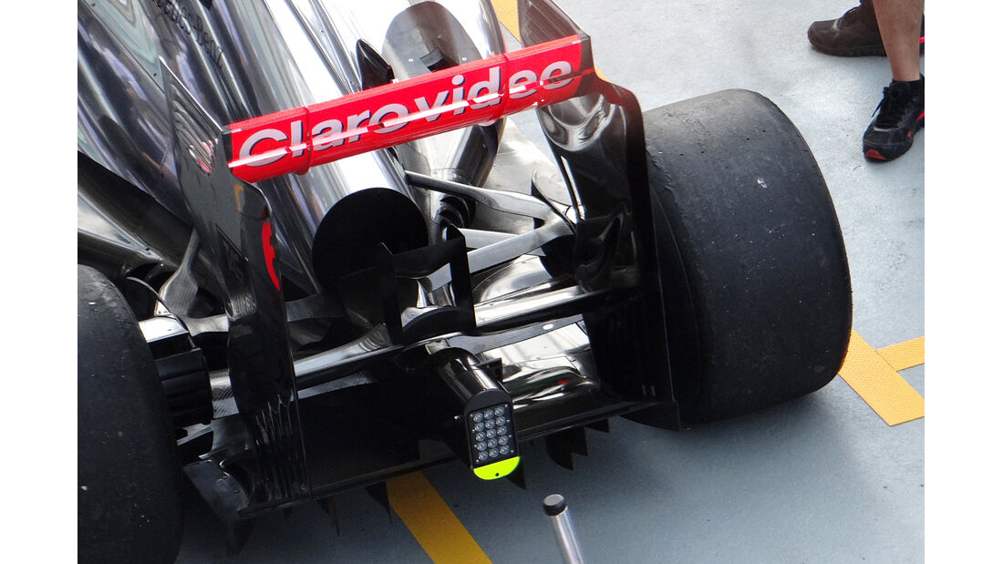 McLaren - Formel 1 - GP Singapur - 20. September 2013
