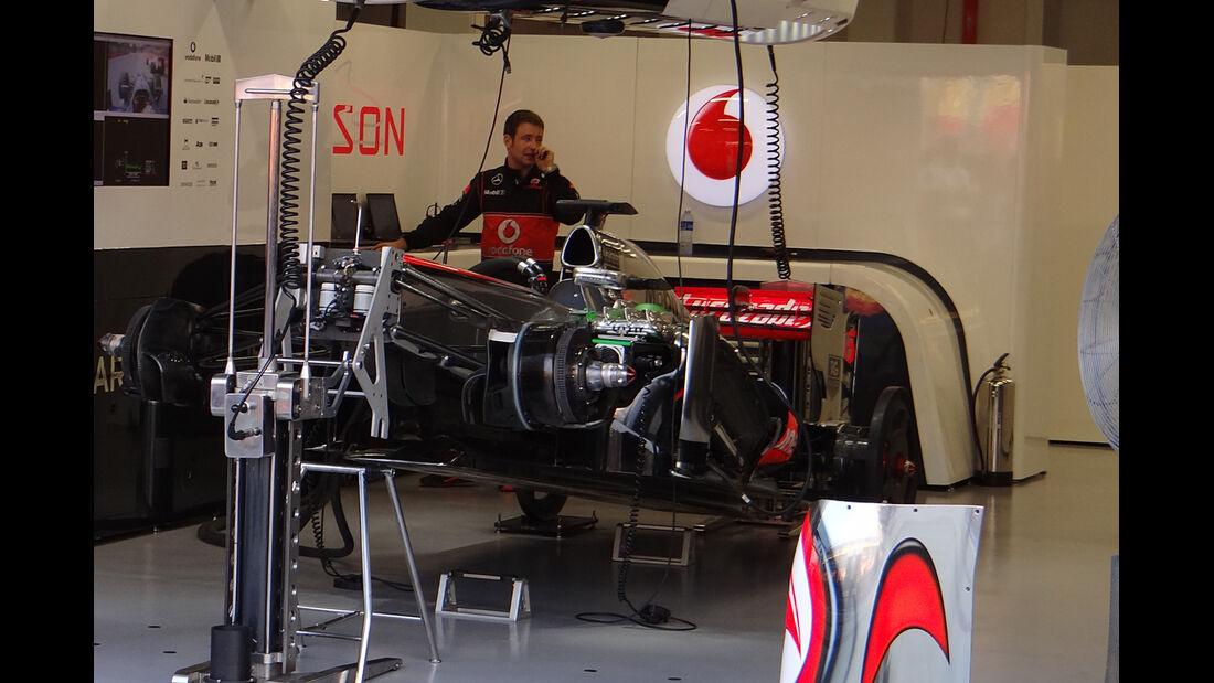 McLaren - Formel 1 - GP Singapur - 21. September 2013