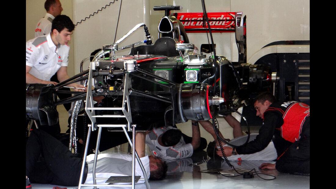 McLaren - Formel 1 - GP Spanien - 10. Mai 2013