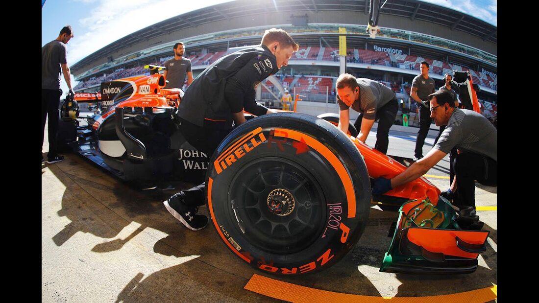 McLaren - Formel 1 - GP Spanien - 12. Mai 2017