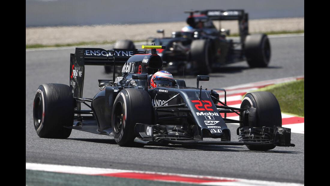 McLaren - Formel 1 - GP Spanien 2016