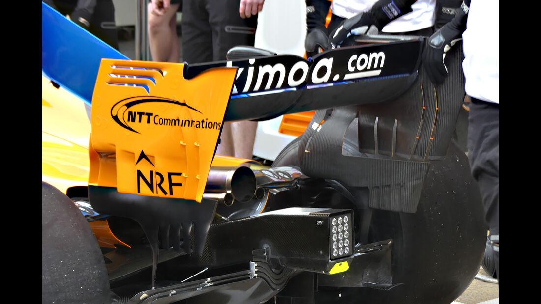 McLaren - Formel 1 - GP Spanien - 2018