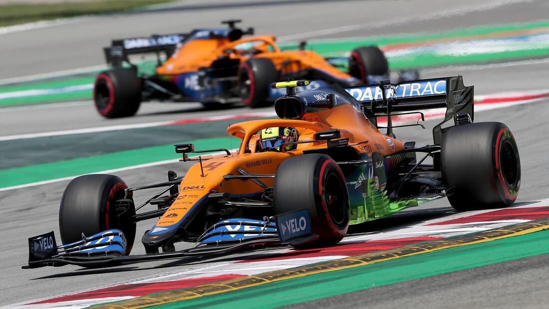 McLaren - Formel 1 - GP Spanien 2021
