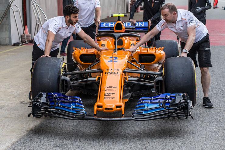 McLaren - Formel 1 - GP Spanien - Barcelona - 10. Mai 2018