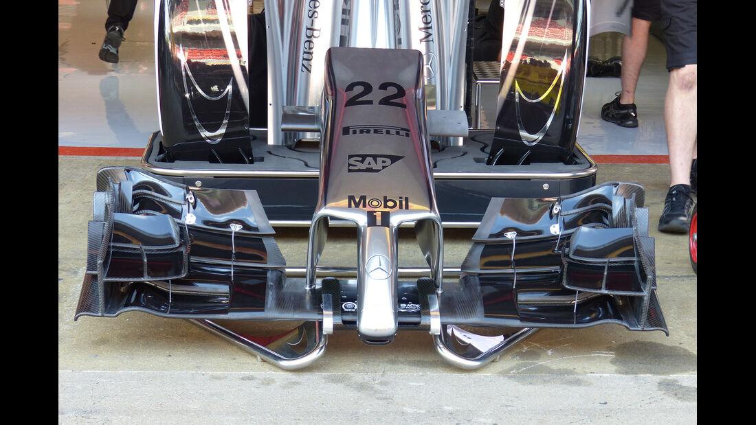 McLaren - Formel 1 - GP Spanien - Barcelona - 8. Mai 2014
