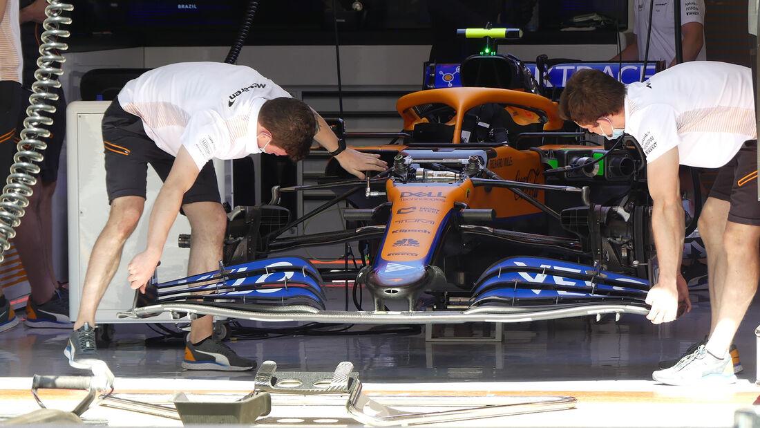 McLaren - Formel 1 - GP Spanien - Donnerstag - 6.5.2021