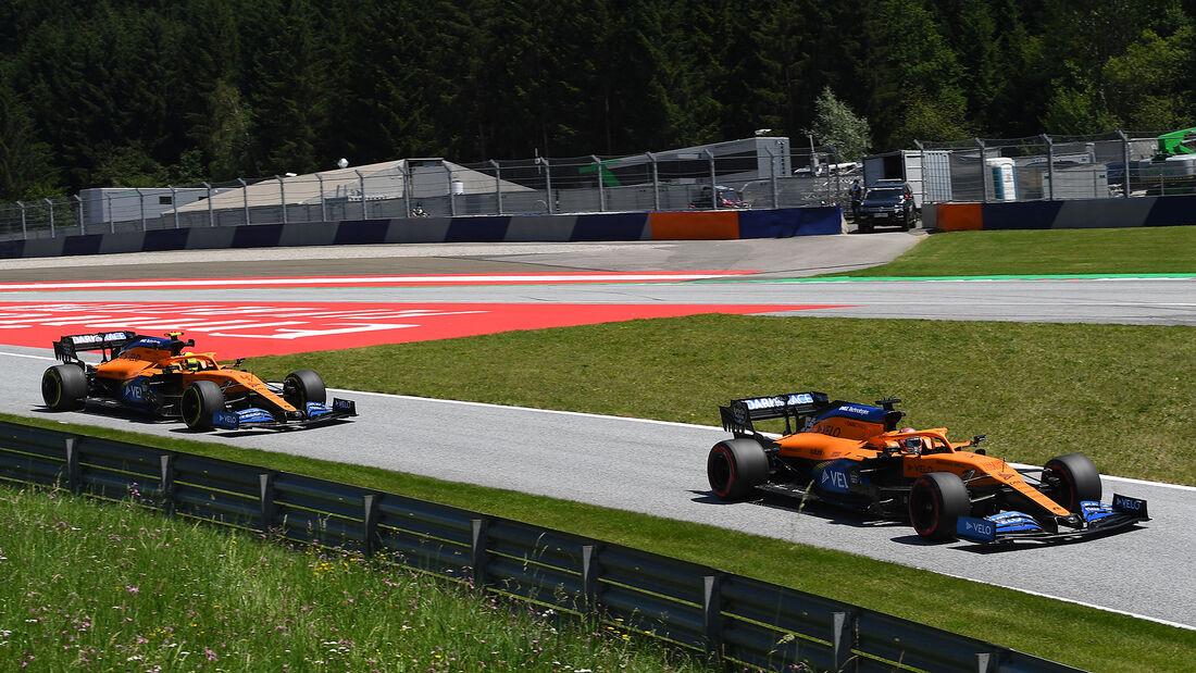 McLaren - Formel 1 - GP Steiermark - Österreich - Spielberg - 10. Juli 2020