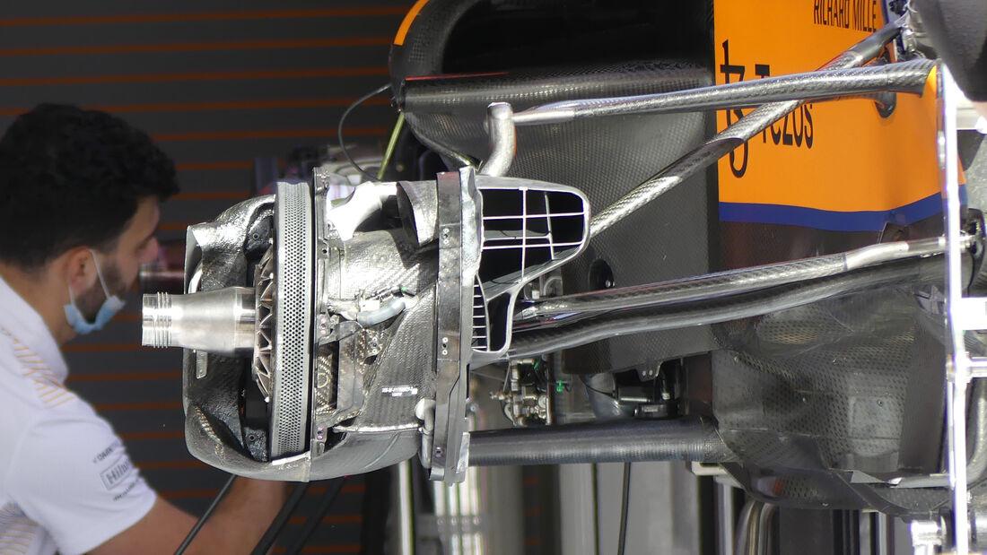 McLaren - Formel 1 - GP Türkei - Istanbul - 7. Oktober 2021