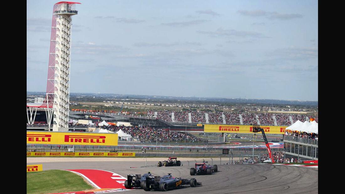 McLaren - Formel 1 - GP USA - 2. November 2014