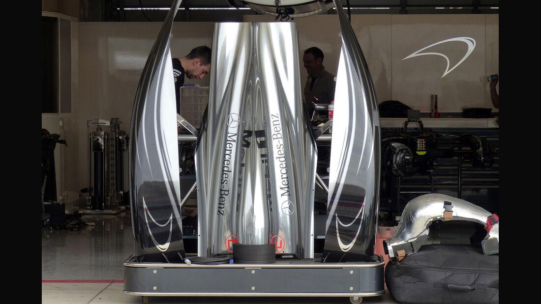 McLaren - Formel 1 - GP USA - 29. Oktober 2014