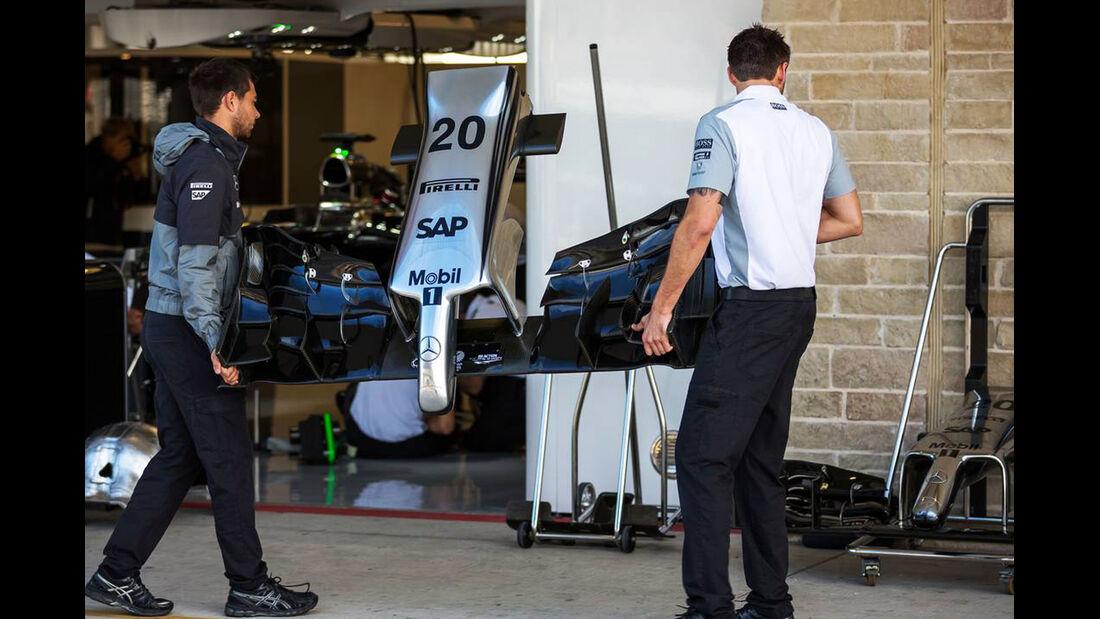 McLaren  - Formel 1 - GP USA - 31. Oktober 2014