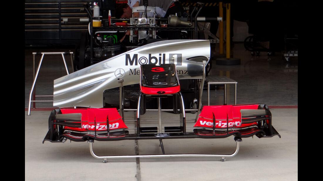 McLaren - Formel 1 - GP USA - Austin - 15. November 2012