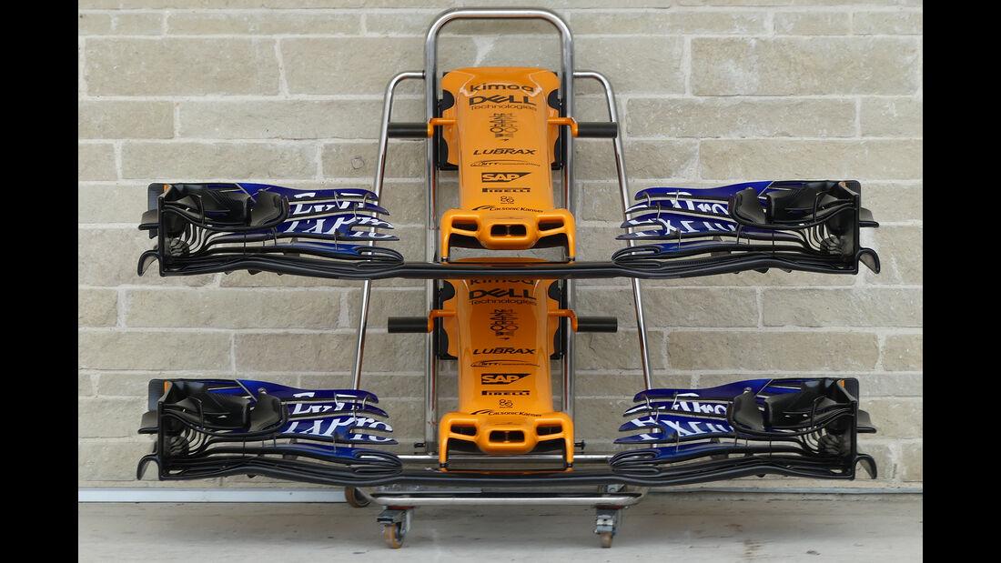 McLaren - Formel 1 - GP USA - Austin - 18. Oktober 2018